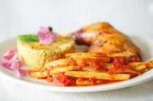 Fasolka szparagowa w pomidorach i kilka pomysłów na obiad