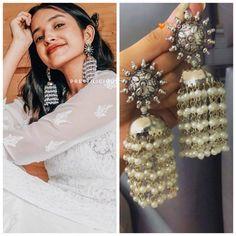Indian Earrings, Boho Earrings, Jewelry Necklaces, Romance Perfume, Traditional Indian Jewellery, Types Of Earrings, Wedding Jewelry, Wedding Shoes, Hippie Boho