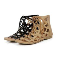 94bd3cbb6b73 Agathas Ankle Lace-Up Gladiator Sandal