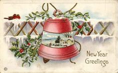 Vintage Bells - Bells - Vintages Cards - Christmas Wallpapers, Free ClipArt for Xmas, Icon's, Web Element, Victorian Christmas Photos and Vintage Santa Claus pictures