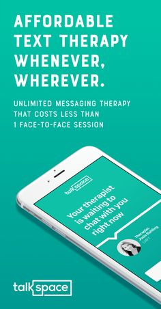 Affordable Online Therapy w/ Video, Audio and Unlimited Messaging. Chat w/ a Licensed Professional Therapist Today. Over 500,000 Happy Talkspace Users!