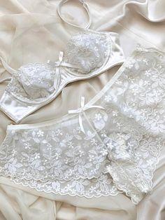 Plus Size Underwear, Cotton Underwear, Ditsy Floral, Corset, Feminine, Bra, Lace, Sexy, Pretty