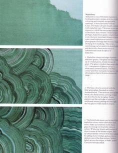 Malachite painting technique via Chapman Interiors