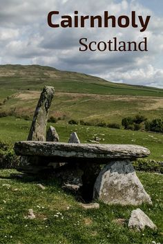 Cairnholy Chambered Cairns, Scotland - old history and beautiful seaside landscapes, this is a great stop in South Scotland - Video, photos and info at http://www.zigzagonearth.com/cairnholy-chambered-cairns-scotland/