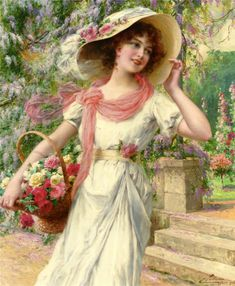 Emile Vernon (1872-1919, French)                                                                                                                                                                                 Mais