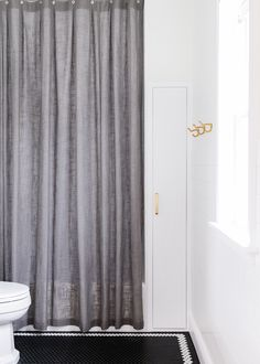 A round up of 15 shower curtains we'd totally buy. (Why does curtain shopping need to be so hard?!) | via Yellow Brick Home