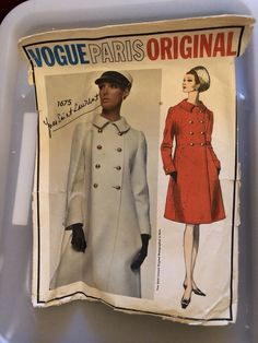 Vtg Vogue Yves Saint Laurent Misses Dress Sewing Pattern #1720 Paris Sz 8 | Crafts, Sewing, Sewing Patterns | eBay!