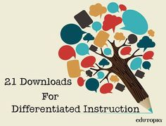 Differentiated Instruction is responsive instruction! (Fulfilling the Promise of the Differentiated Classroom Get elementary lesson plans, enrichment activities, assessment rubrics, & more. Instructional Coaching, Instructional Strategies, Teaching Strategies, Teaching Tools, Teacher Resources, Teaching Ideas, Instructional Technology, Teaching Materials, Gifted Education