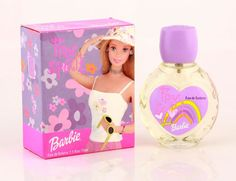 Barbie Free Spirit Perfume is a delightfully fresh and exciting flowery, citrus blend, perfect for young children, and the young at heart