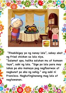 Teacher Fun Files: Maikling Kwento: Si Francisco Magalang Moral Stories For Kids, Short Stories For Kids, Kids Story Books, Tagalog, Cvc Words, Reading Passages, Best Teacher, Filipino, Banner