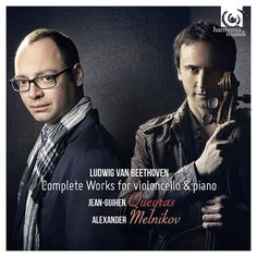 Ludwig van Beethoven : Complete Works for Violoncello and Piano by Jean-Guihen Queyras