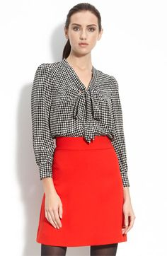 Kate Spade reade blouse $176 - isn't this a cute little outfit.
