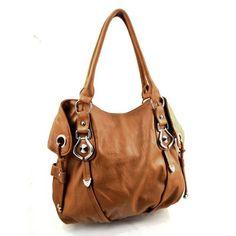 New York Hobo Handbag (Desert Orange)