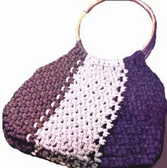 Macrame Purse Patterns Free : ... macrame patterns on Pinterest Macrame, Macrame bracelets and Macrame