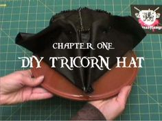 how to make a pirate hat doesn't hurt to have more than one tutorial on hand!