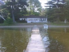 Vacation rental cottage on Otsego Lake near Gaylord, Michigan - I think this is in the Arbutus Beach neighborhoood.