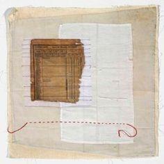 Jette Clover - fiber artist, mixed media, White Series