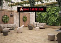 Woodville Natural Wood Plank Porcelain Tile - 12 x 59 - 100581628 Grey Wood Tile, Wood Plank Tile, Wood Tile Floors, Wood Planks, Flooring, Concrete Wall, Outdoor Wood Tiles, Porcelain Wood Tile, Houses