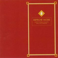 Depeche Mode – Everything Counts And Live Tracks / Mute 1983 / Design [Sleeve] – David A. Jones, Martyn Atkins
