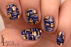 LacqLustreHawaiian Lantern Floating #nail #nails #nailart