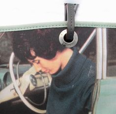 ANYA HINDMARCH LONDON Retro Car Typewriter Woman Photo Print Tote Bag Italy #ANYAHINDMARCH #TotesShoppers
