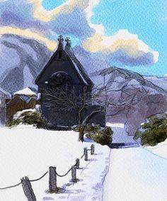 Winter by guinness-draught.deviantart.com on @DeviantArt