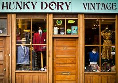 Hunky Dory Vintage | Noted Purveyors of Vintage Clothing on London's Brick Lane