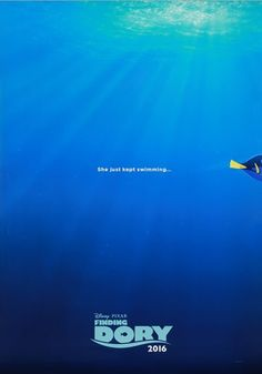 Have you seen her? Bring home the fun of Disney Pixar's Finding Dory with this double-sided teaser poster - 500 points