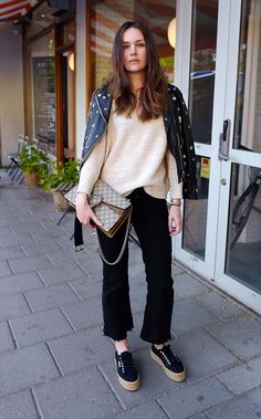 look cropped jeans
