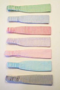 Seersucker Headbands @maggiepie803 these would look cute in your hair