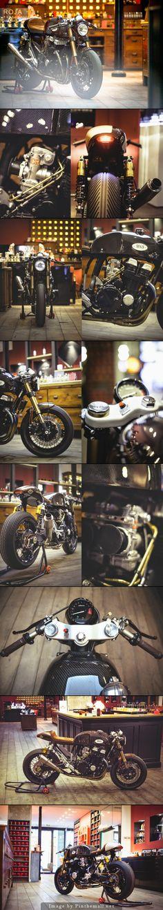 #Honda CB750 RC42 #caferacer #motorcycle #EatSleepRIDE app.eatsleepride.com