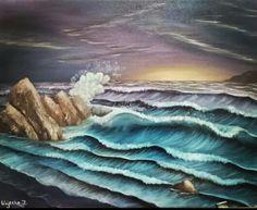 """""""Summer Storm"""" - Oil Painting By: Wajeeha Zaheer"""