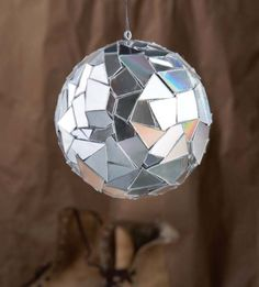This DIY disco ball is such a fun project, made by upcycling a pile of compact discs. Not your generic party light, this DIY disco ball will rock the party!