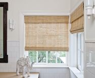 Natural Woven Shades - Natural Woven Shades, Woven Window Shades, Window Treatment - Smith+Noble