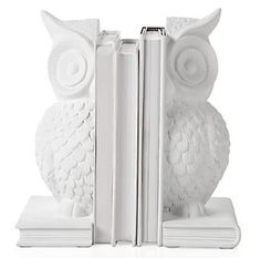 Booklicious: Roundup: Owl Bookends