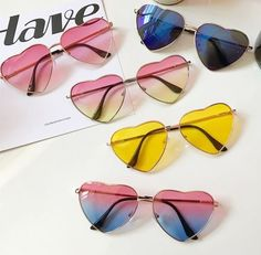 ZAFUL offers a wide selection of trendy fashion style women's clothing. Affordable prices on new tops, dresses, outerwear and more. Round Lens Sunglasses, Flat Top Sunglasses, Heart Shaped Sunglasses, Cute Sunglasses, Cat Eye Sunglasses, Sunglasses Women, Sunnies, Vintage Sunglasses, Fake Glasses