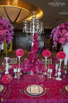 Floral-Centerpieces-Tablescape www.tablescapesbydesign.com https://www.facebook.com/pages/Tablescapes-By-Design/129811416695