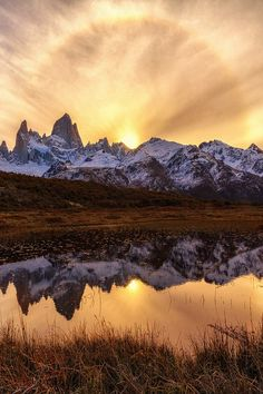 #heaven-ly-mind:  Ring of Fire | Fitz Roy Patagonia Argentina
