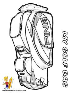 golf coloring pages - Google Search