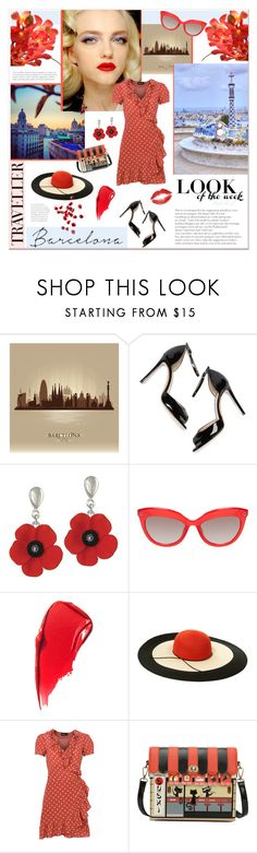 """""""Barcelona Traveller"""" by theseapearl ❤ liked on Polyvore featuring M. Gemi, Eugenia Kim, modern, travelstyle, barcelona, Spain, womensFashion and outfitsfortravel"""