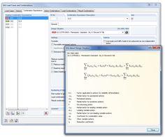 Alle informatie van RFEM dat automatisch gegenereerd wordt, eenvoudig en helder controleren m.b.v. RFEM, zoals de combinaties van de Eurocode 0.