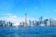 Toronto Skyline Toronto Skyline, Cn Tower, Building, Travel, Viajes, Buildings, Destinations, Traveling, Trips