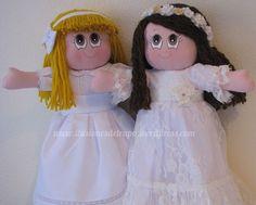Muñeca de trapo primera comunión