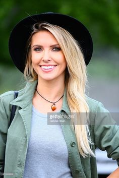 TV personality Audrina Patridge attends the KROQ Weenie Roast Y Fiesta 2015 at Irvine Meadows Amphitheatre on May 16, 2015 in Irvine, California.
