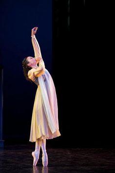 "Christina Cecchini in ""Romeo & Juliet Appassionata.""    Photo by Glenna Turnbull."