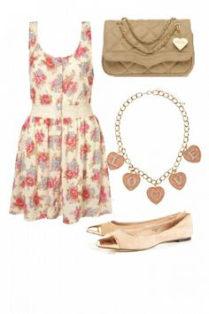 girly chic #outfits #style