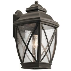 Kichler Lighting Tangier Collection 1-light Olde Bronze Outdoor Wall Lantern