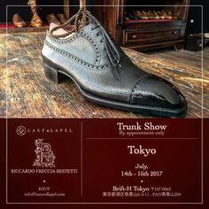 TRUNK-SHOW TOKYO JULY 14 -15– RSVP @lastandlapel or marco.facchinetti@theblossomavenue.com