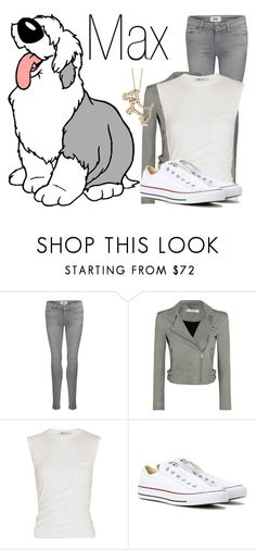 """""""Max~ DisneyBound"""" by basic-disney ❤ liked on Polyvore featuring Paige Denim, IRO, Alexander Wang, Converse and Allurez"""