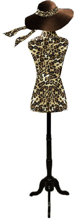Blossom Dress Forms -Leopard/Cheetah
